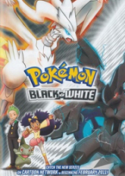 Pokemon Temp 14 Negro y Blanco